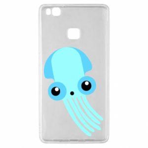 Etui na Huawei P9 Lite Cute blue jellyfish