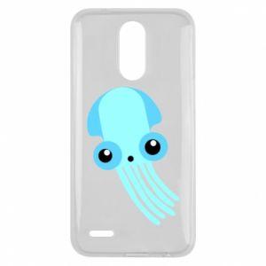 Etui na Lg K10 2017 Cute blue jellyfish