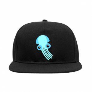 Snapback Cute blue jellyfish
