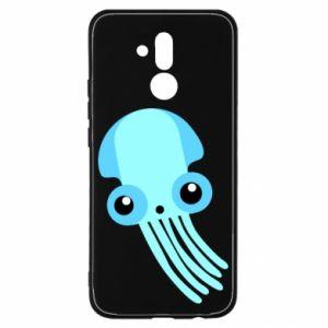 Etui na Huawei Mate 20 Lite Cute blue jellyfish