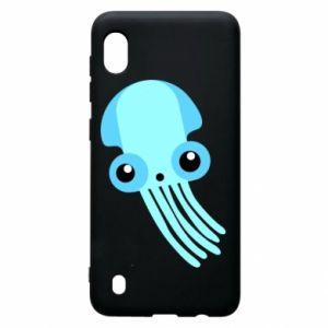 Etui na Samsung A10 Cute blue jellyfish