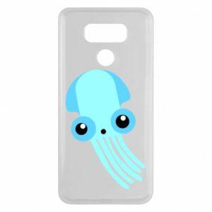 Etui na LG G6 Cute blue jellyfish