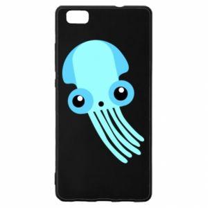 Etui na Huawei P 8 Lite Cute blue jellyfish