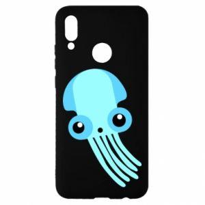 Etui na Huawei P Smart 2019 Cute blue jellyfish