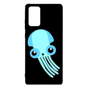 Etui na Samsung Note 20 Cute blue jellyfish