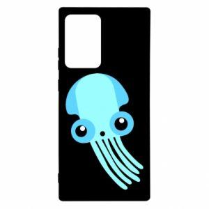 Etui na Samsung Note 20 Ultra Cute blue jellyfish