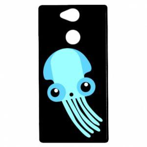 Etui na Sony Xperia XA2 Cute blue jellyfish