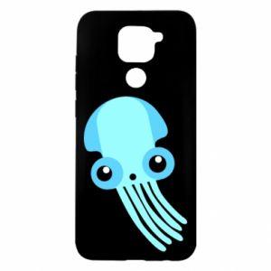 Etui na Xiaomi Redmi Note 9/Redmi 10X Cute blue jellyfish