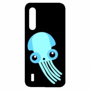 Etui na Xiaomi Mi9 Lite Cute blue jellyfish
