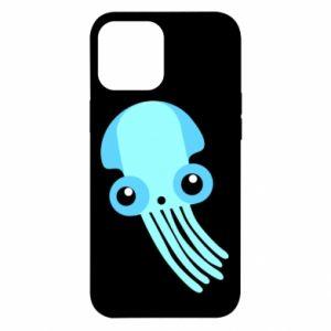 Etui na iPhone 12 Pro Max Cute blue jellyfish