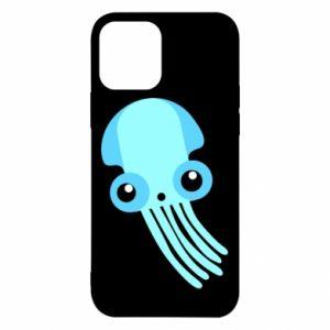 Etui na iPhone 12/12 Pro Cute blue jellyfish