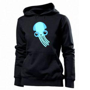 Bluza damska Cute blue jellyfish