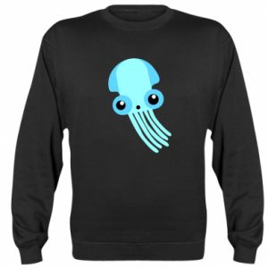 Bluza Cute blue jellyfish