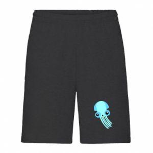 Szorty męskie Cute blue jellyfish