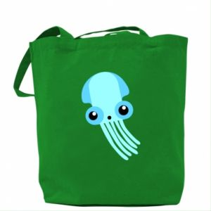 Torba Cute blue jellyfish