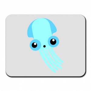 Podkładka pod mysz Cute blue jellyfish