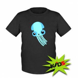 Koszulka dziecięca Cute blue jellyfish