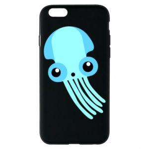 Etui na iPhone 6/6S Cute blue jellyfish