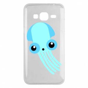Etui na Samsung J3 2016 Cute blue jellyfish