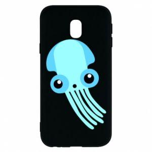 Etui na Samsung J3 2017 Cute blue jellyfish