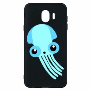Etui na Samsung J4 Cute blue jellyfish