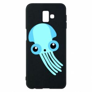 Etui na Samsung J6 Plus 2018 Cute blue jellyfish