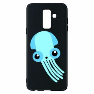 Etui na Samsung A6+ 2018 Cute blue jellyfish