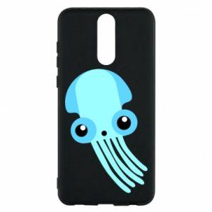 Etui na Huawei Mate 10 Lite Cute blue jellyfish