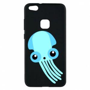 Etui na Huawei P10 Lite Cute blue jellyfish