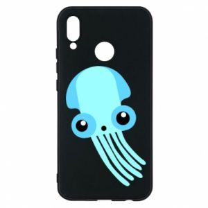Etui na Huawei P20 Lite Cute blue jellyfish