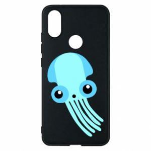 Etui na Xiaomi Mi A2 Cute blue jellyfish
