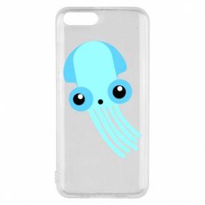 Etui na Xiaomi Mi6 Cute blue jellyfish