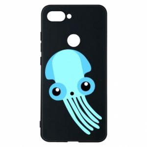 Etui na Xiaomi Mi8 Lite Cute blue jellyfish