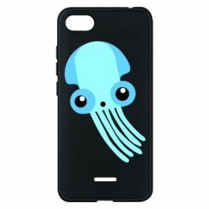 Etui na Xiaomi Redmi 6A Cute blue jellyfish