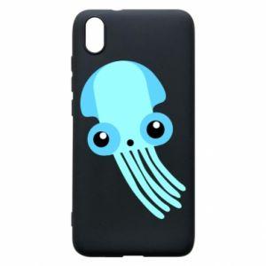 Etui na Xiaomi Redmi 7A Cute blue jellyfish