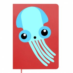 Notes Cute blue jellyfish