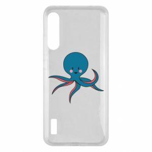 Etui na Xiaomi Mi A3 Cute blue octopus with a smile