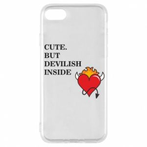 Etui na iPhone 7 Cute but devilish inside