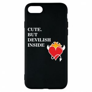 Etui na iPhone 8 Cute but devilish inside