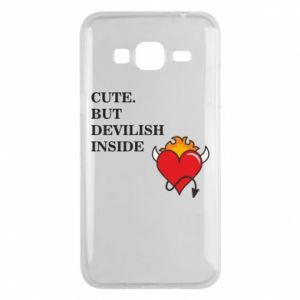 Etui na Samsung J3 2016 Cute but devilish inside