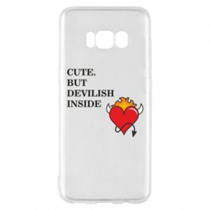 Etui na Samsung S8 Cute but devilish inside