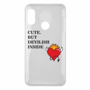 Etui na Mi A2 Lite Cute but devilish inside