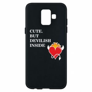 Etui na Samsung A6 2018 Cute but devilish inside