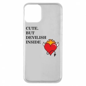 Etui na iPhone 11 Cute but devilish inside