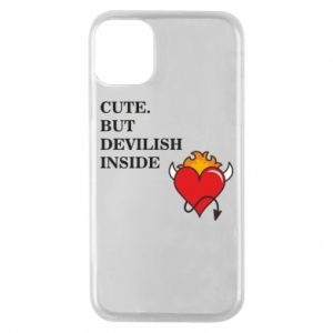 Etui na iPhone 11 Pro Cute but devilish inside