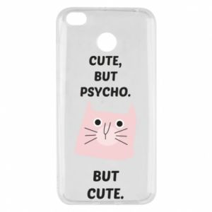 Xiaomi Redmi 4X Case Cute but psycho but cute