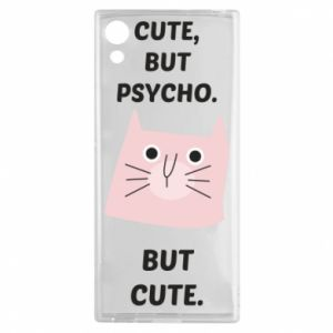 Sony Xperia XA1 Case Cute but psycho but cute