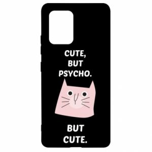 Samsung S10 Lite Case Cute but psycho but cute