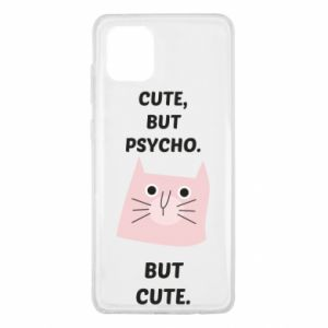 Samsung Note 10 Lite Case Cute but psycho but cute