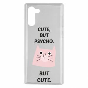 Samsung Note 10 Case Cute but psycho but cute